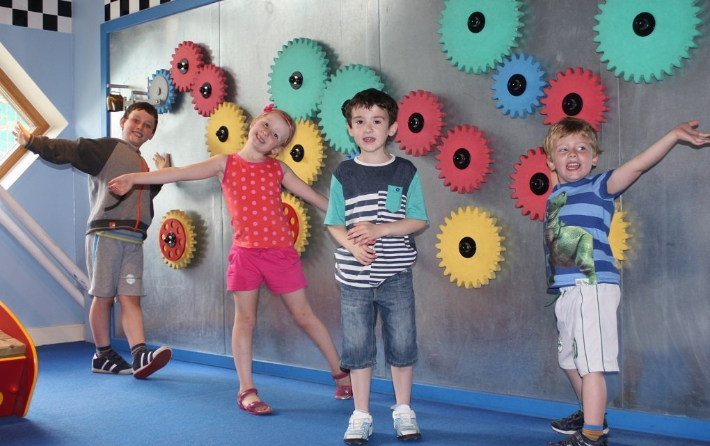 Imaginosity cog wall places to take your child this summer
