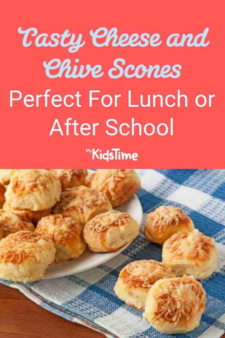 Tasty Cheese and Chive Scones - Perfect For Lunch or After School