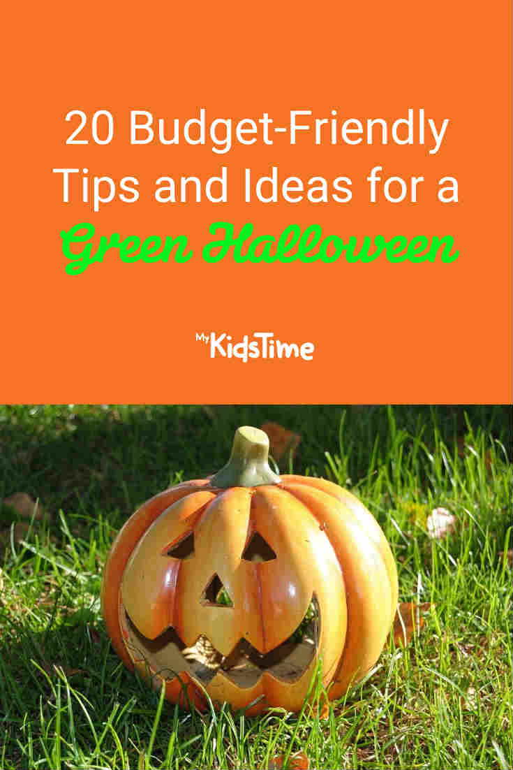 20 Budget-Friendly Tips and Ideas for a Green Halloween - Mykidstime
