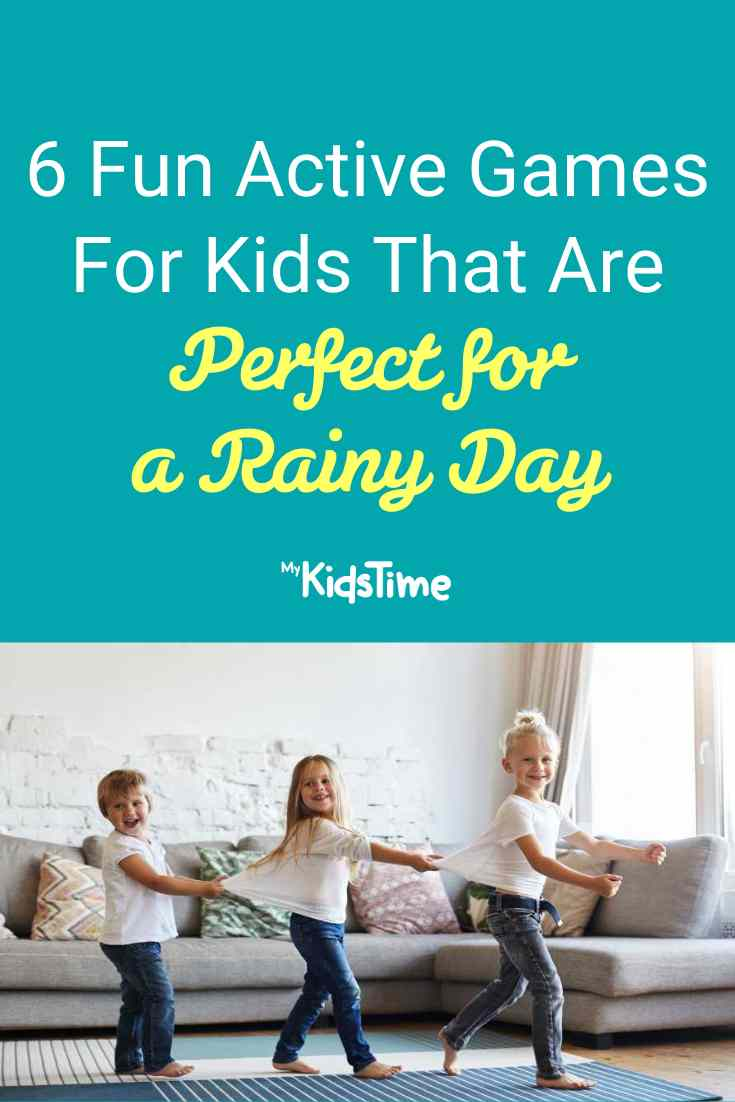 6 Fun Active Games for Kids For A Rainy Day