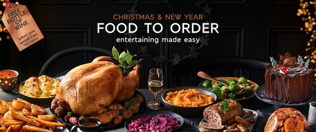 Christmas and New Year Food at M&S take the stress out of Christmas