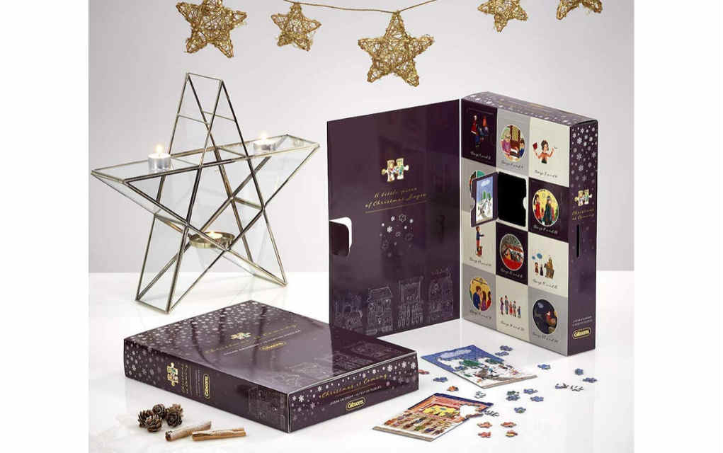 Gibsons jigsaw advent calendar