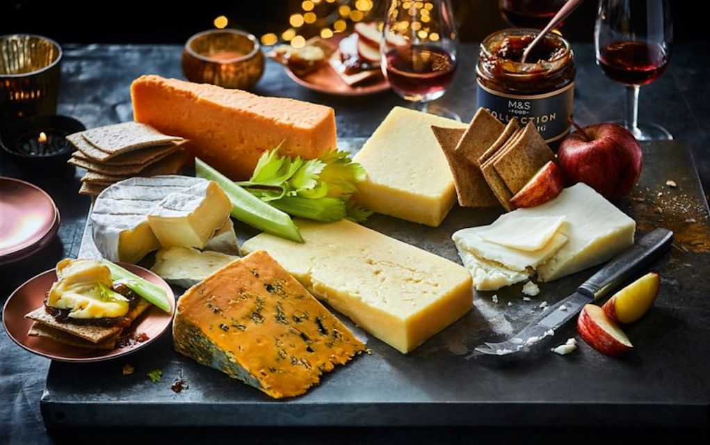 M&S Cheese Board take the stress out of Christmas