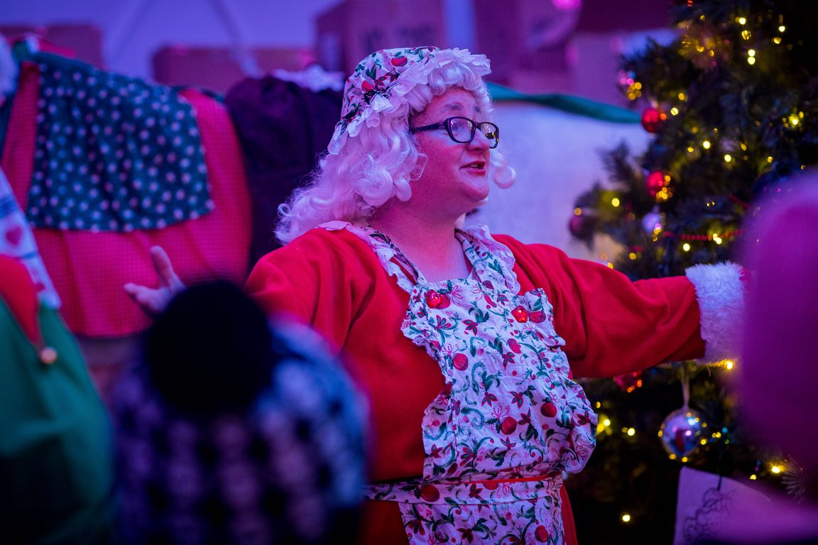 Mrs Claus at Castlecomer Discovery Park