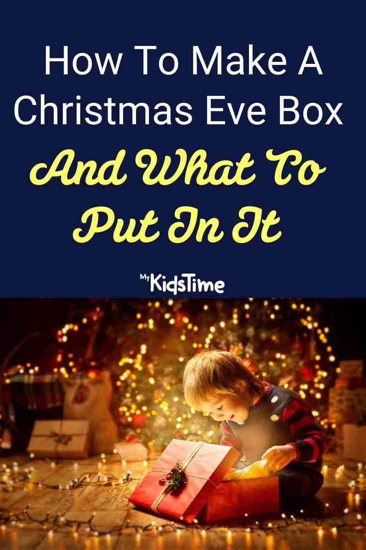 How To Make A Christmas Eve Box And What To Put In It