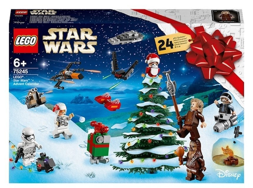 Lego advent calendars star wars