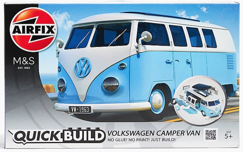 M&S Airfix VW Campervan festive gifts for under €20