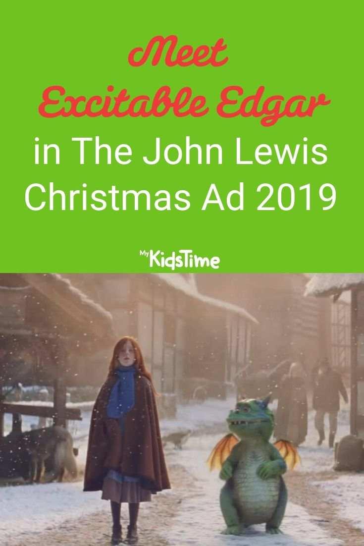 Meet excitable edgar in the john lewis christmas ad 2019