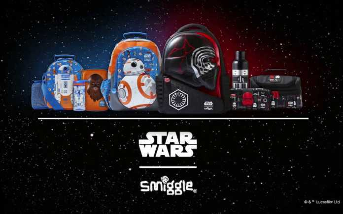 Smiggle Star Wars lead