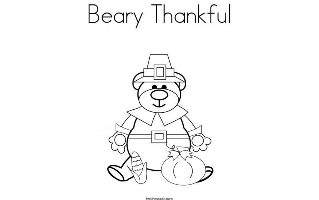 Thanksgiving colouring pages 4 - Mykidstime