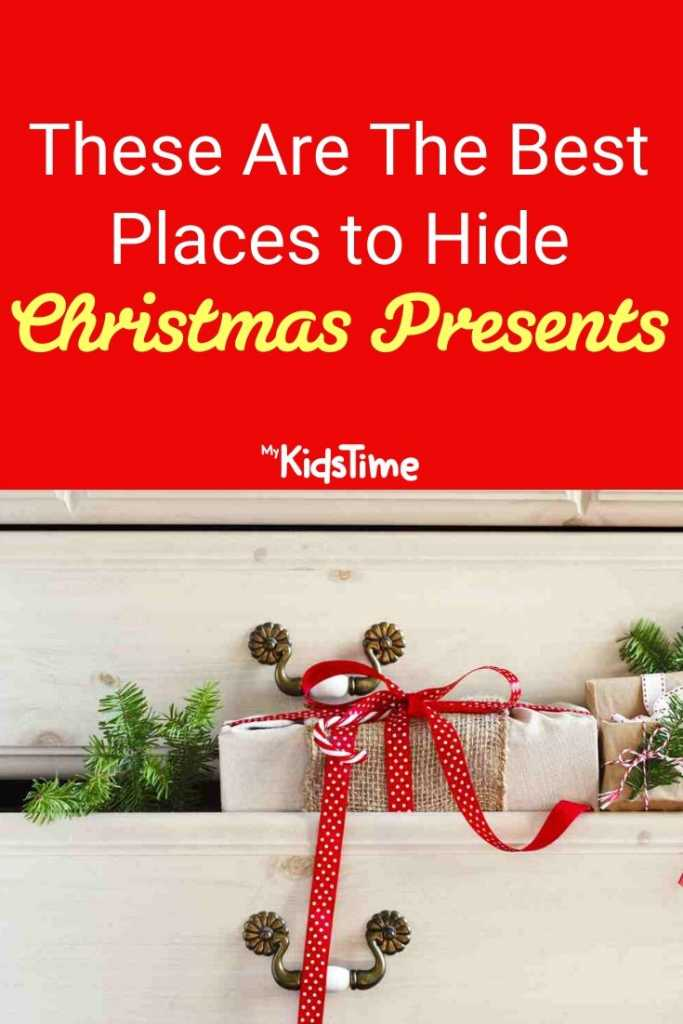 These are the best places to hide christmas presents