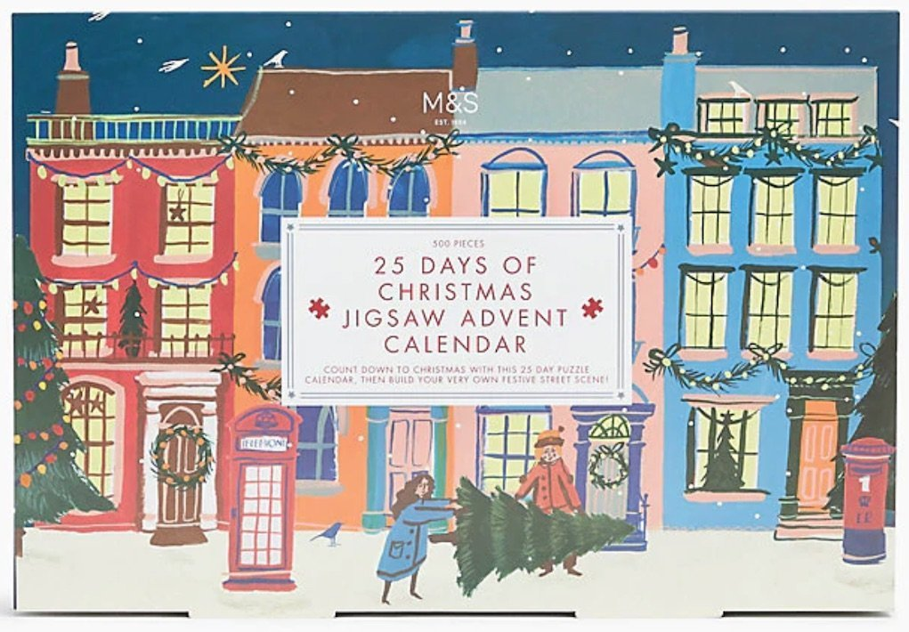 jigsaw advent calendar from M&S festive gifts for under €20