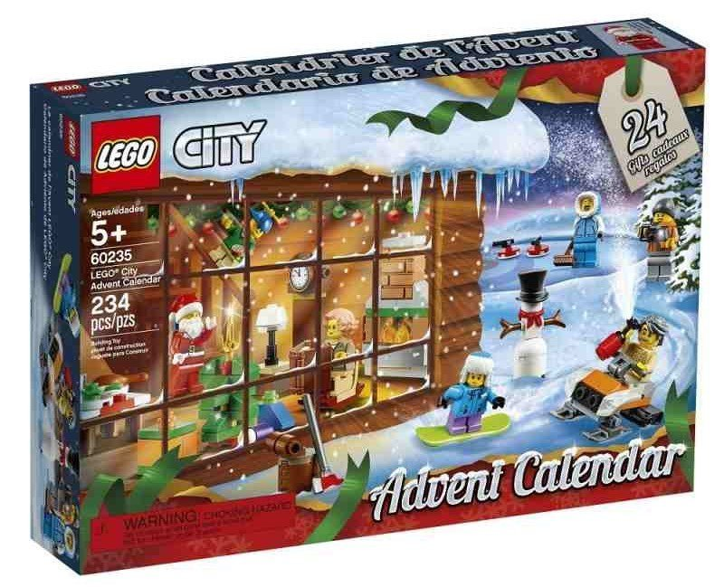 lego advent calendar lego city