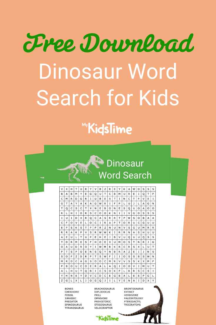 Dinosaur word search - Mykidstime (1)