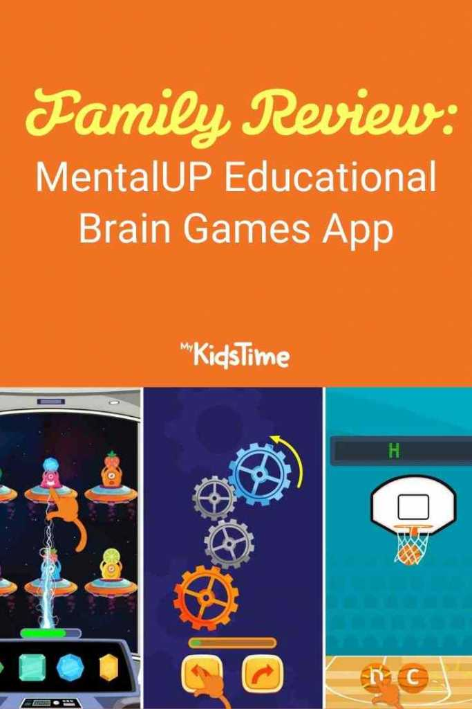 Family Review MentalUP Educational Brain Games App