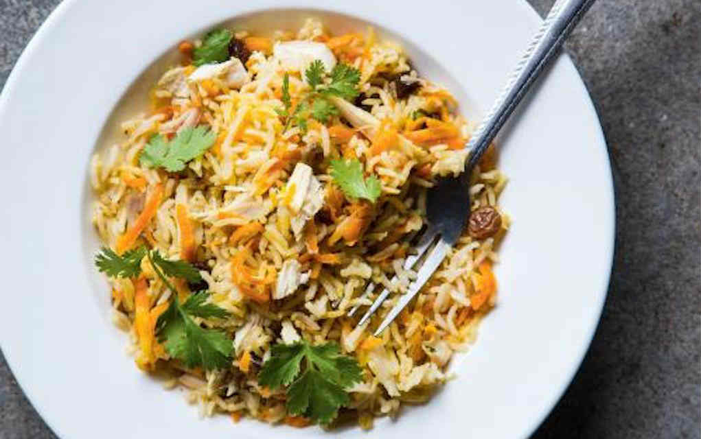 Indian Spiced Turkey Pilaf Ricardo Cuisine