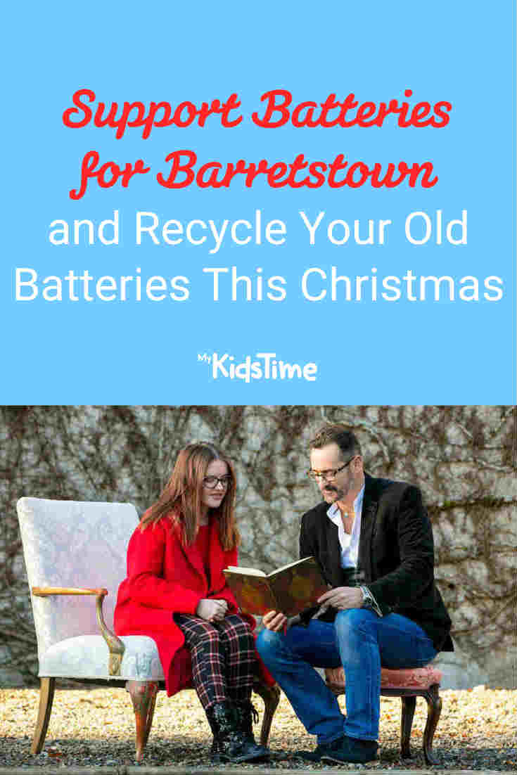 Recycle Your Batteries and Help Support Batteries for Barretstown This Christmas - Mykidstime