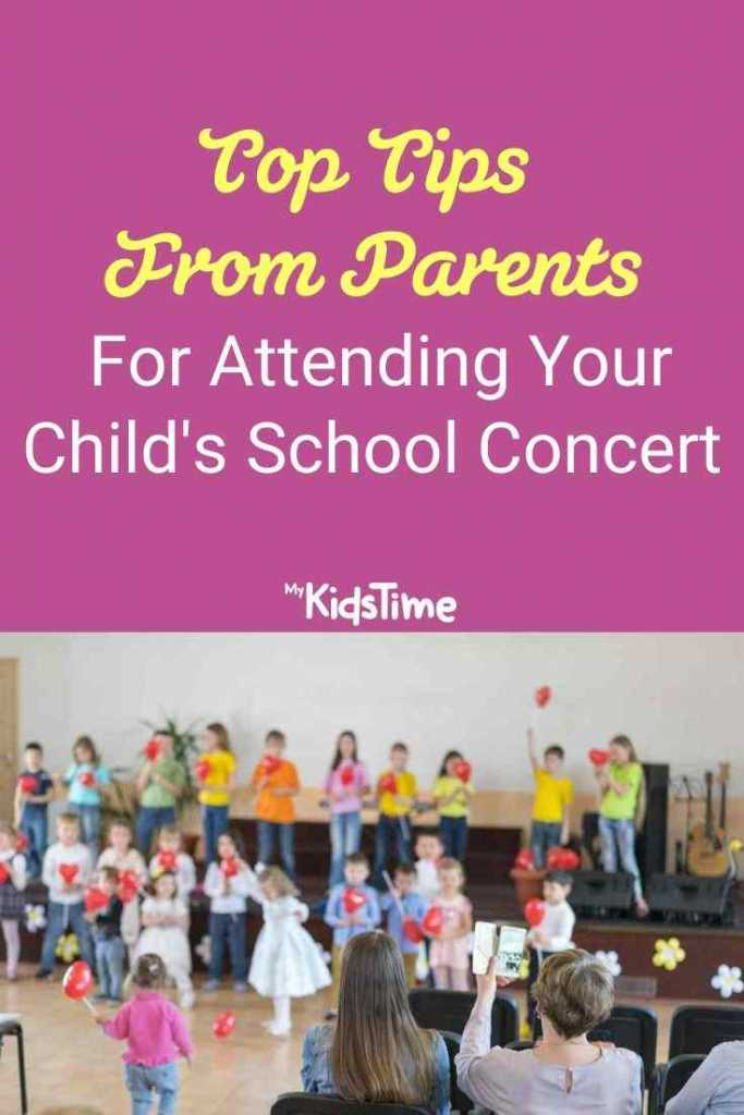 Top Tips From Parents for Attending Your Child's School Concert