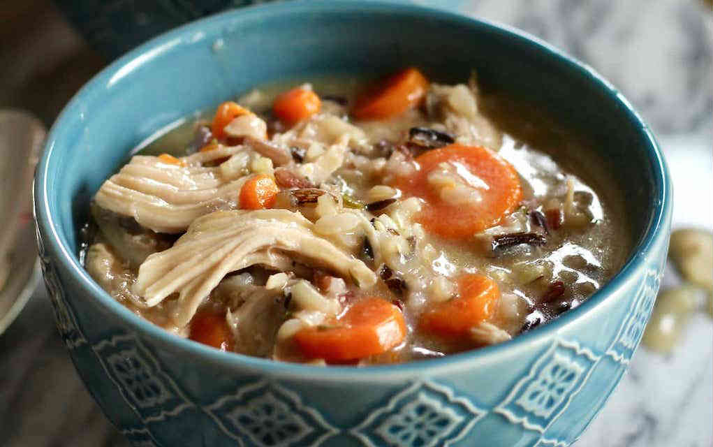 Turkey-Wild-Rice-Soup The Healthy Toast
