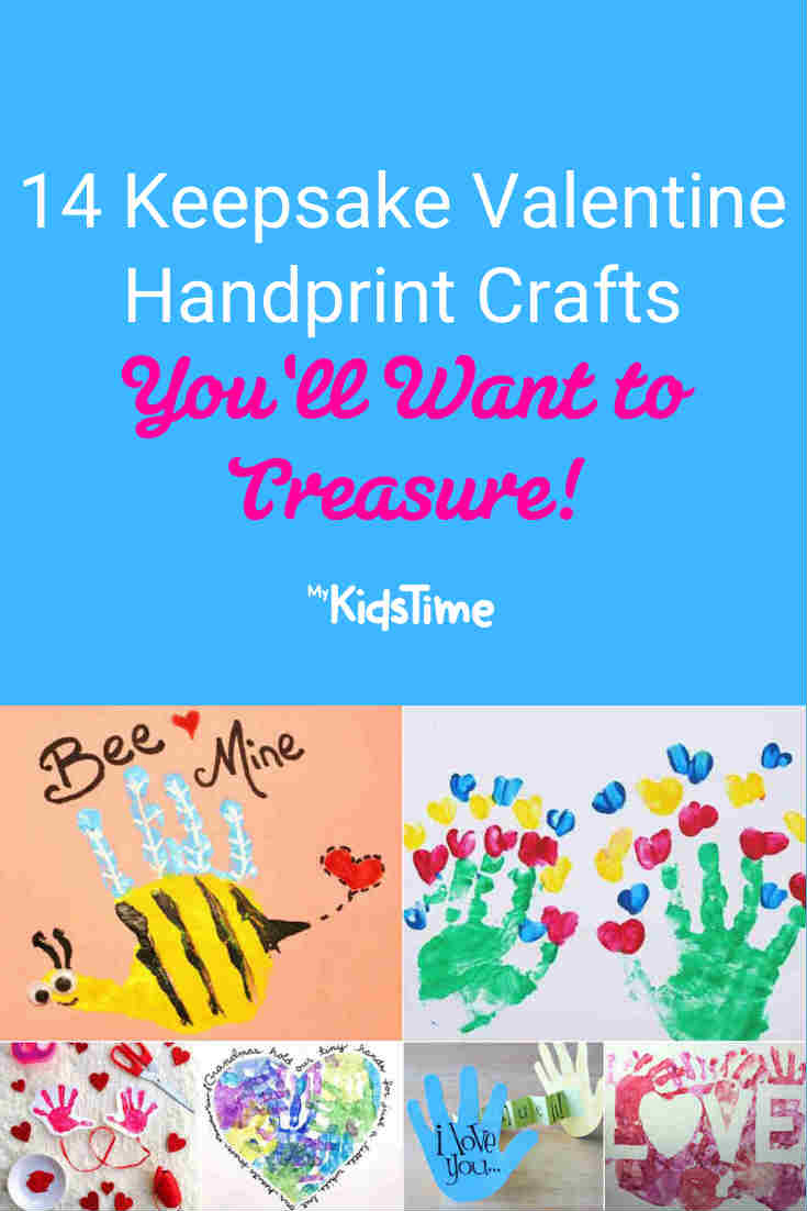 14 Keepsake Valentine Handprint Crafts You'll Want to Treasure - Mykidstime