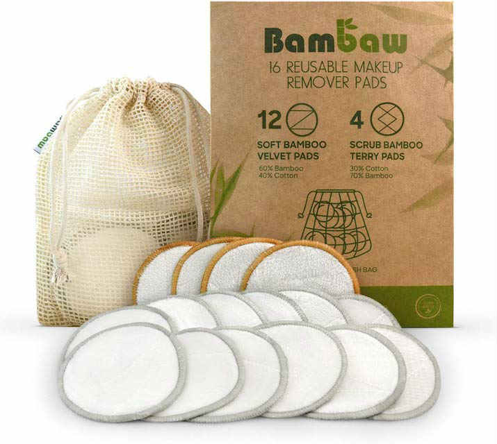 Bambaw reusable make up pads Mykidstime recommends