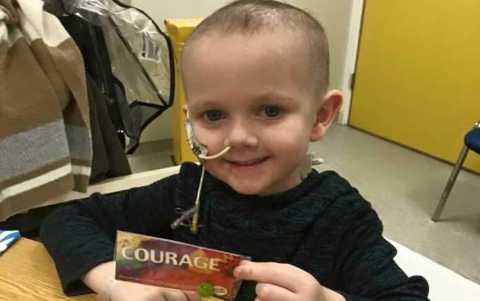 Childhood cancer foundation Ireland Jack and his beads of courage