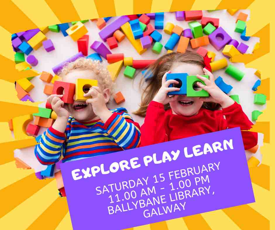 Explore play learn family day at Ballybane Library