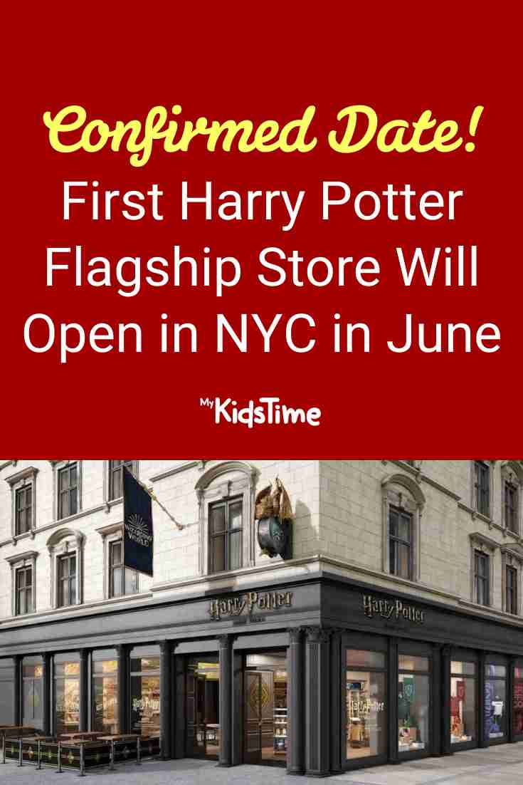 First Harry Potter Flagship Store Will Open in NYC - Mykidstime