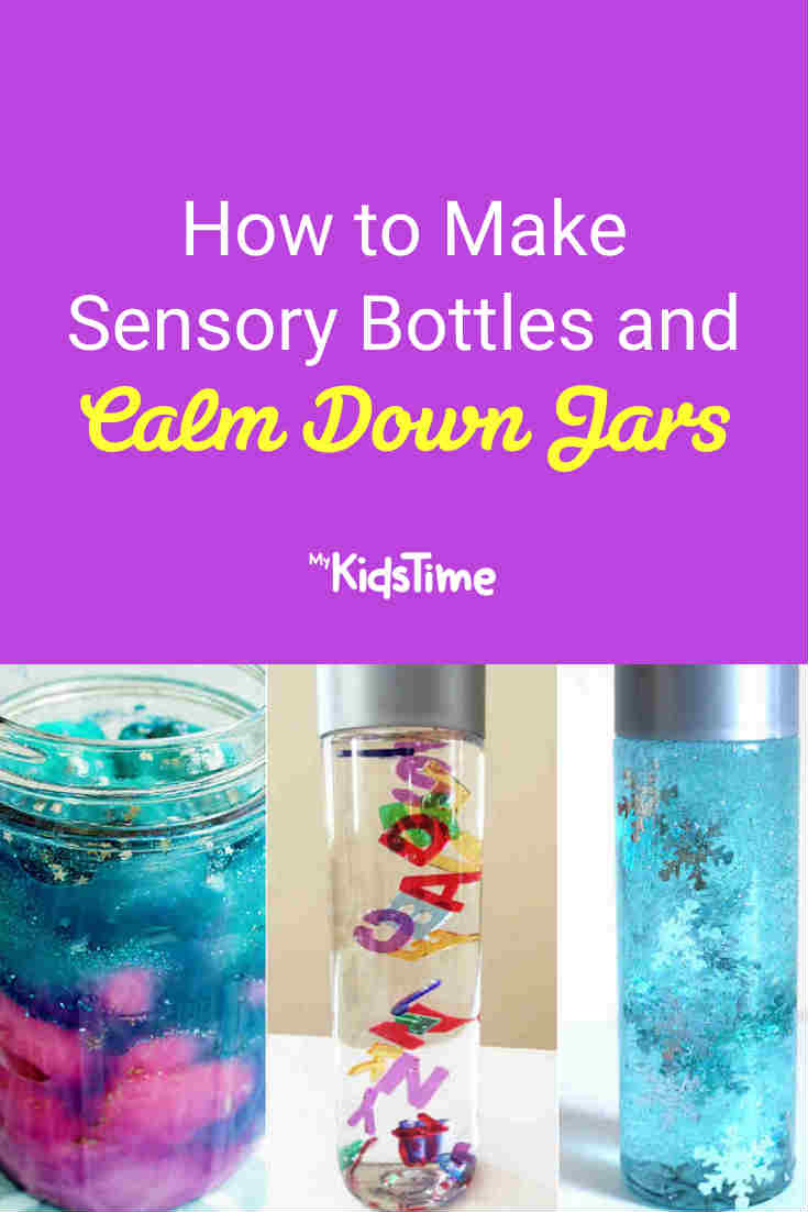 How to Make Sensory Bottles and Calm Down Jars - Mykidstime