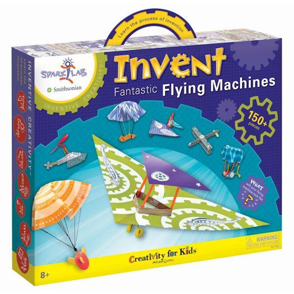 Invent Fantastic flying machines from Schoolbooks.ie