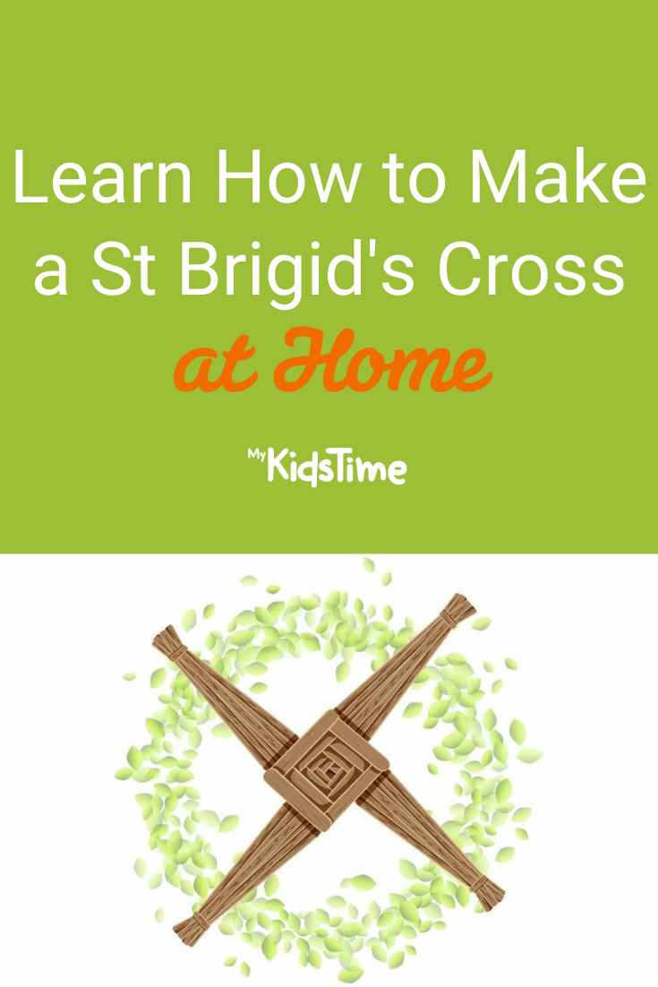 Learn How to Make a Simple St Brigid's Cross at Home - Mykidstime