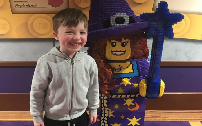 Liam's Leukaemia diagnosis and his make a wish dream come true