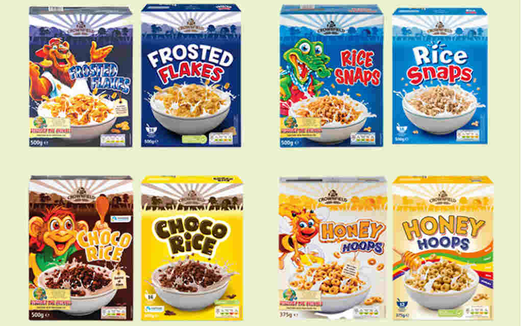 Lidl To Remove Cartoon Characters From Cereal Packaging By