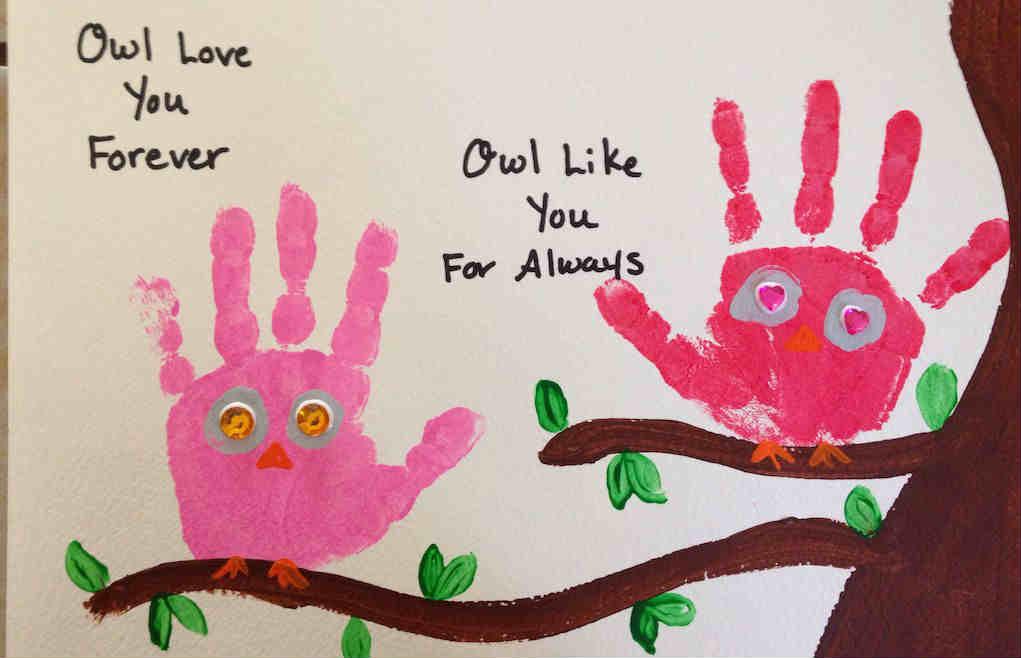 Owl love Valentine