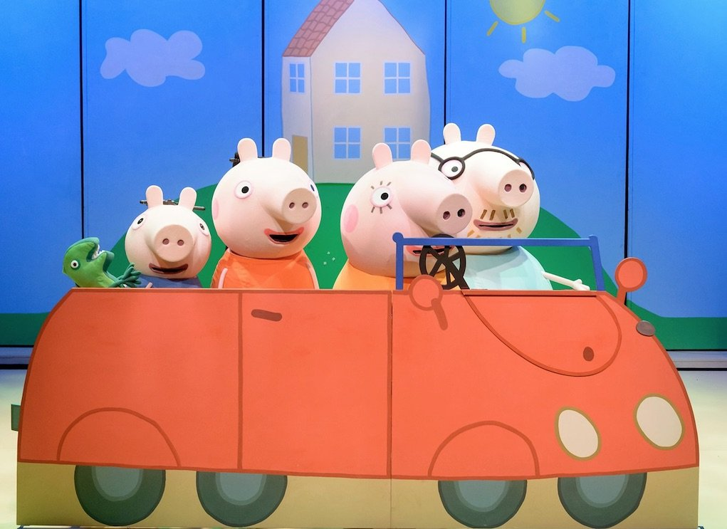 Peppa Pig Best Day Ever Show things to do in Ireland with kids What's On