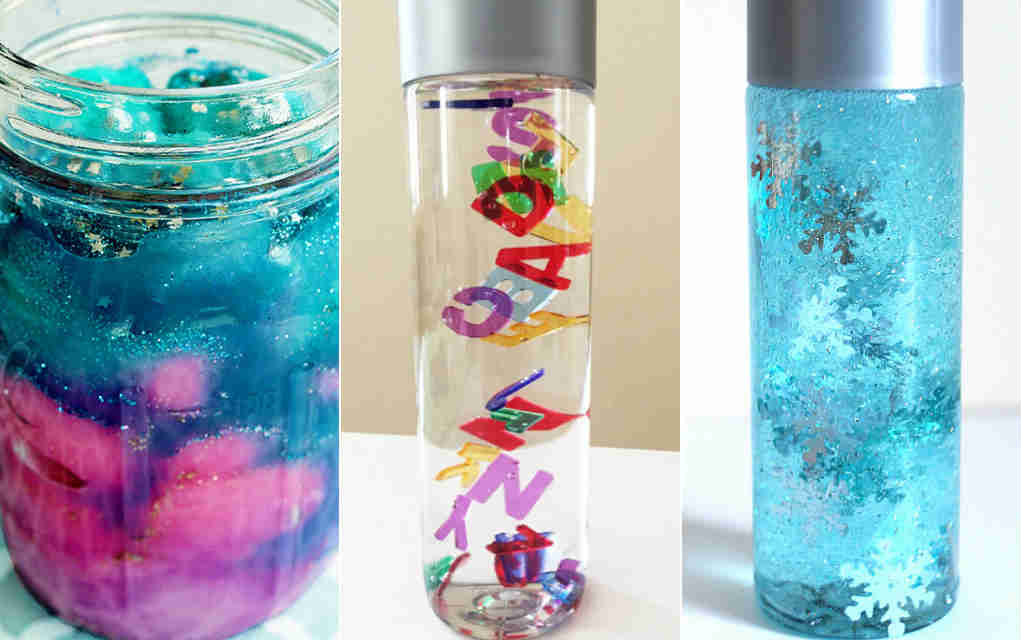 How To Make Sensory Bottles And Calm Down Jars