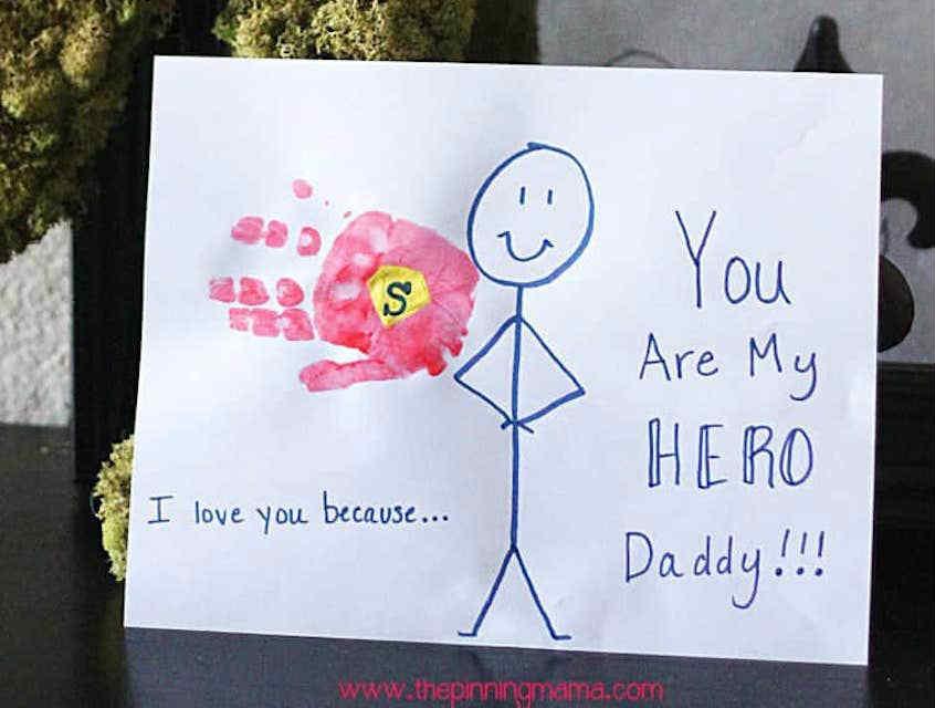 Superhero Daddy