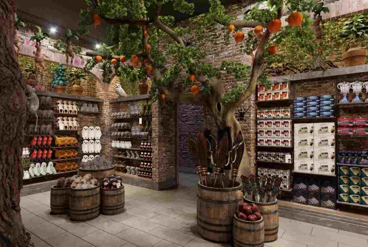 Harry Potter flagship store New York