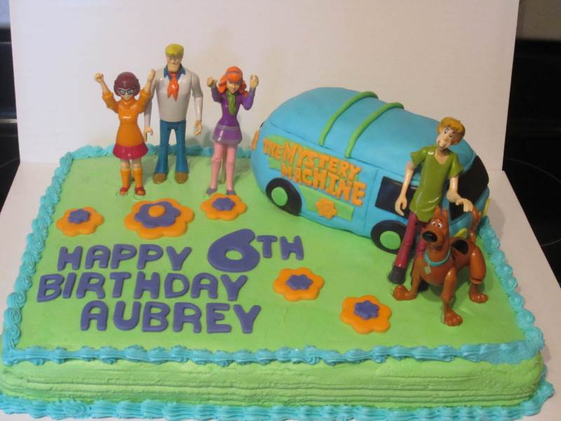 scooby doo 3d birthday cake