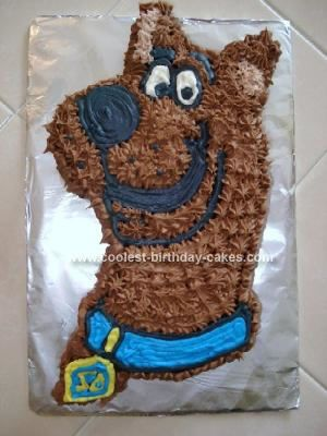scooby doo profile birthday cake