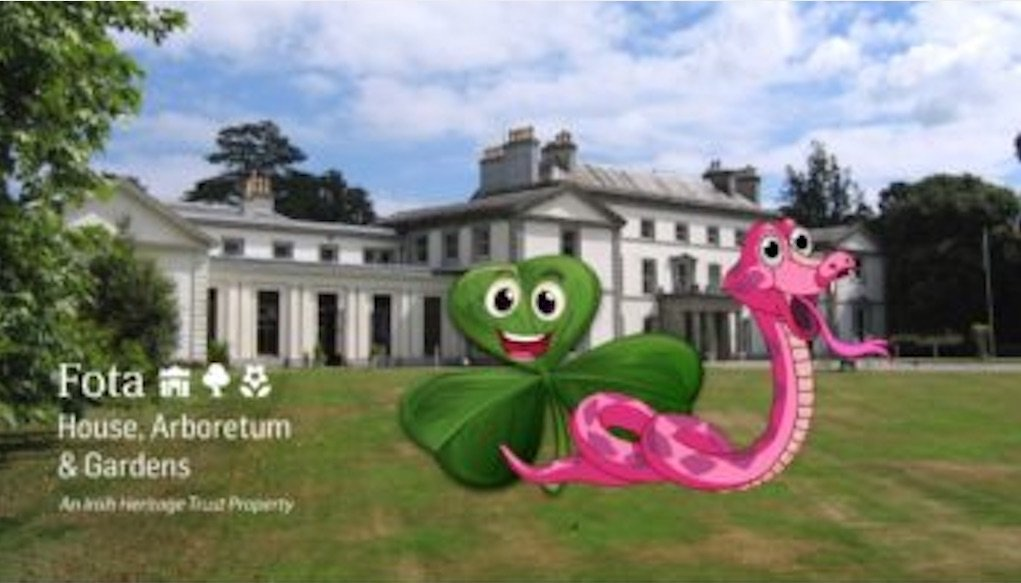 snakes and shamrocks trail at Fota House Cork St Patrick's day events in Ireland