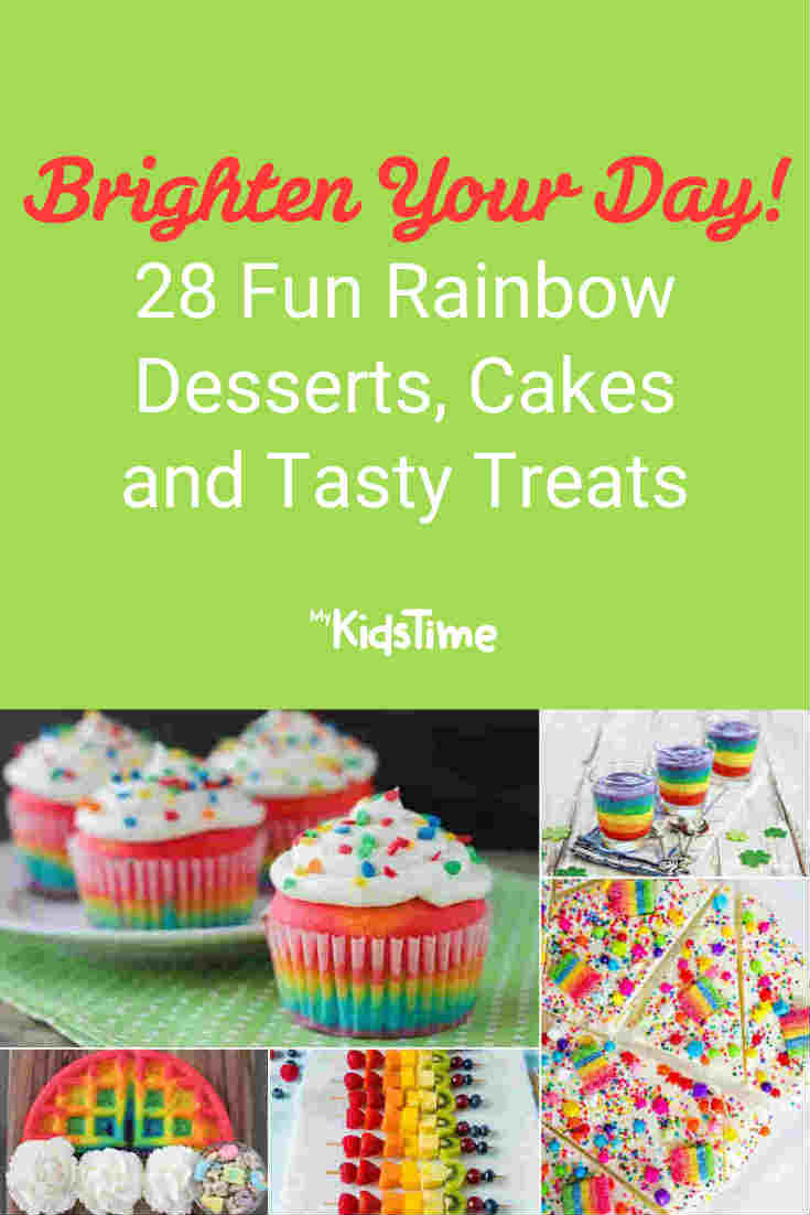 28 Fun Rainbow Desserts Cakes and Treats to Brighten Your Day - Mykidstime