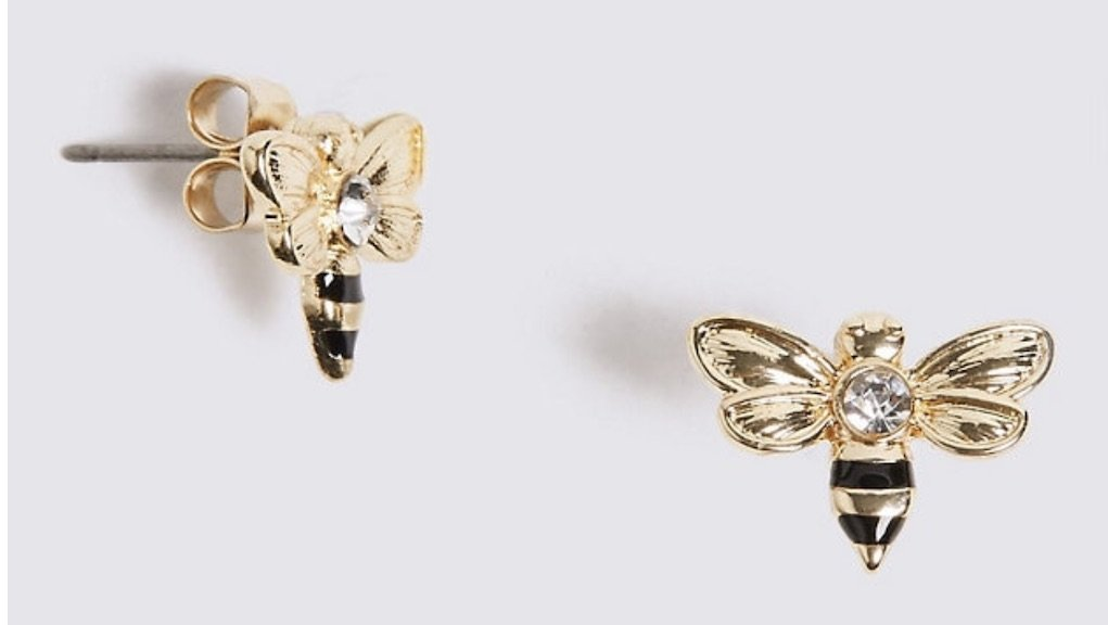 Best Mother's Day gifts bumble bee earrings