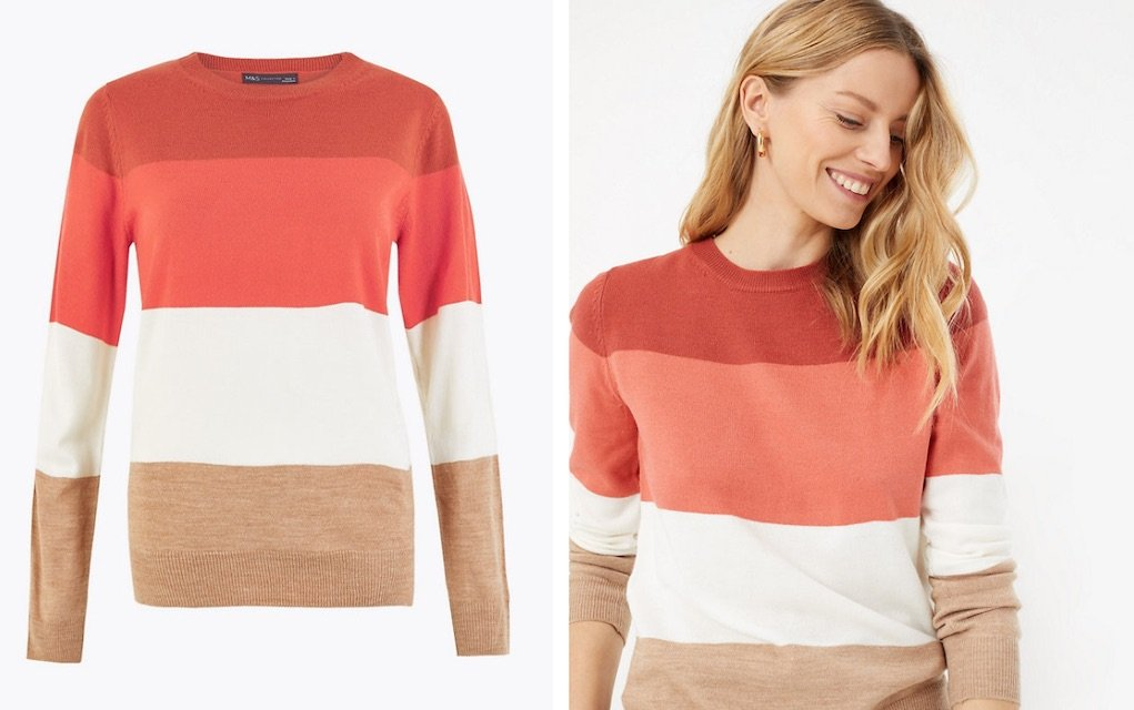 Cashmilon jumper from M&S best Mother's day gifts