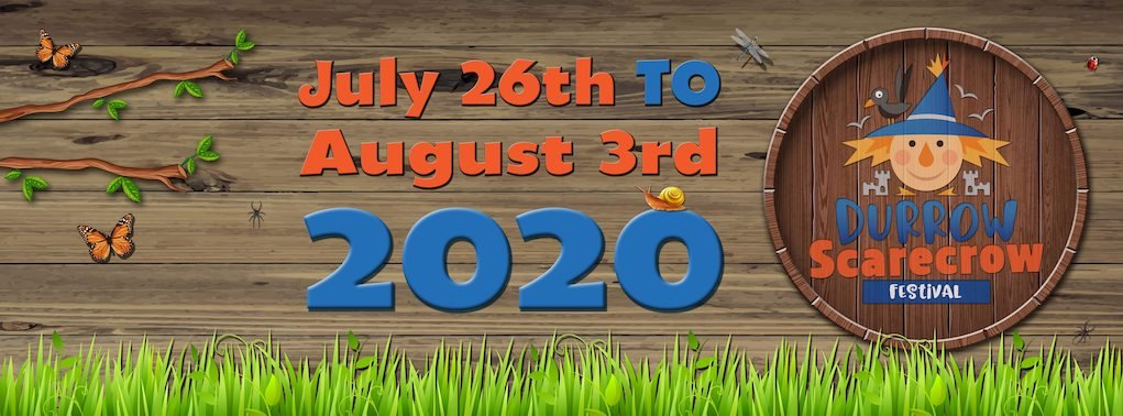 Durrow Scarecrow Festival 2020 image festivals in Ireland for summer 2020