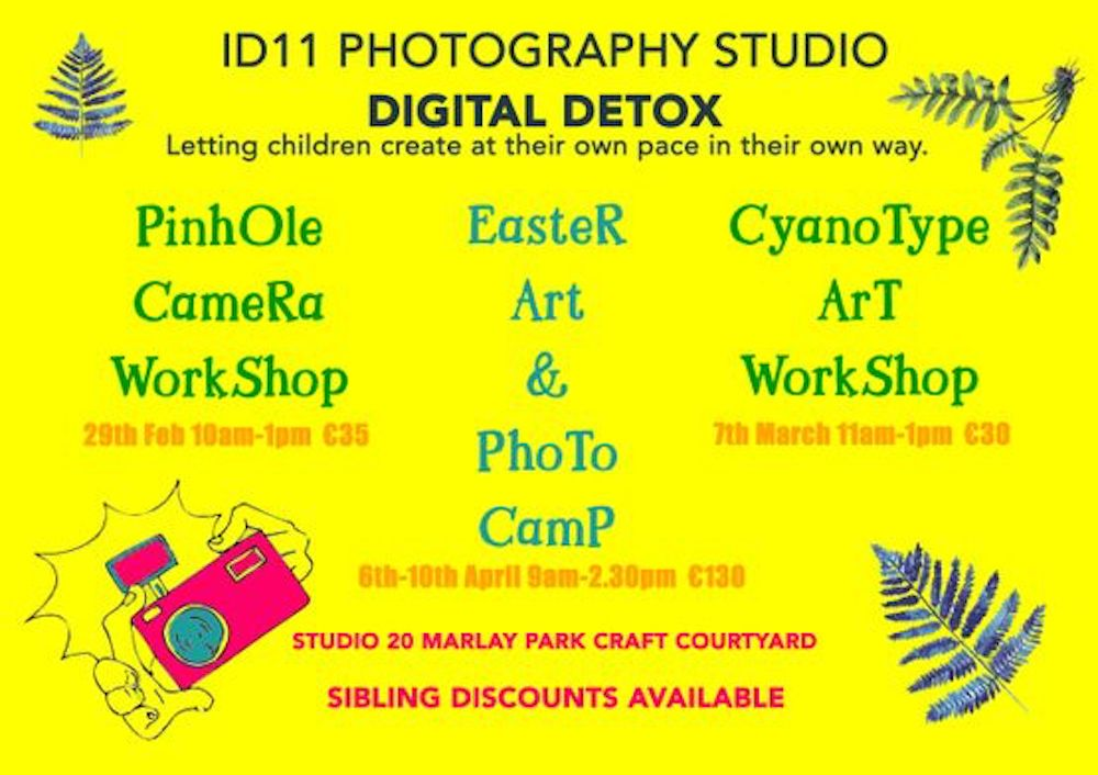 Easter Camps for Kids in Dublin Photography and Art