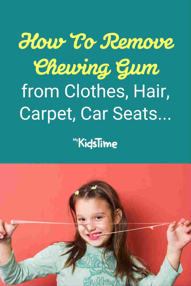 How To Remove Chewing Gum From Clothes – Mykidstime