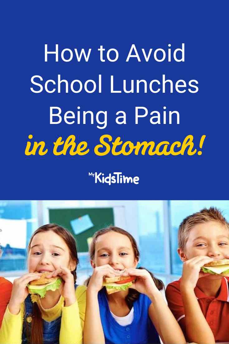 How to Avoid School Lunches Being a Pain in the Stomach - Mykidstime