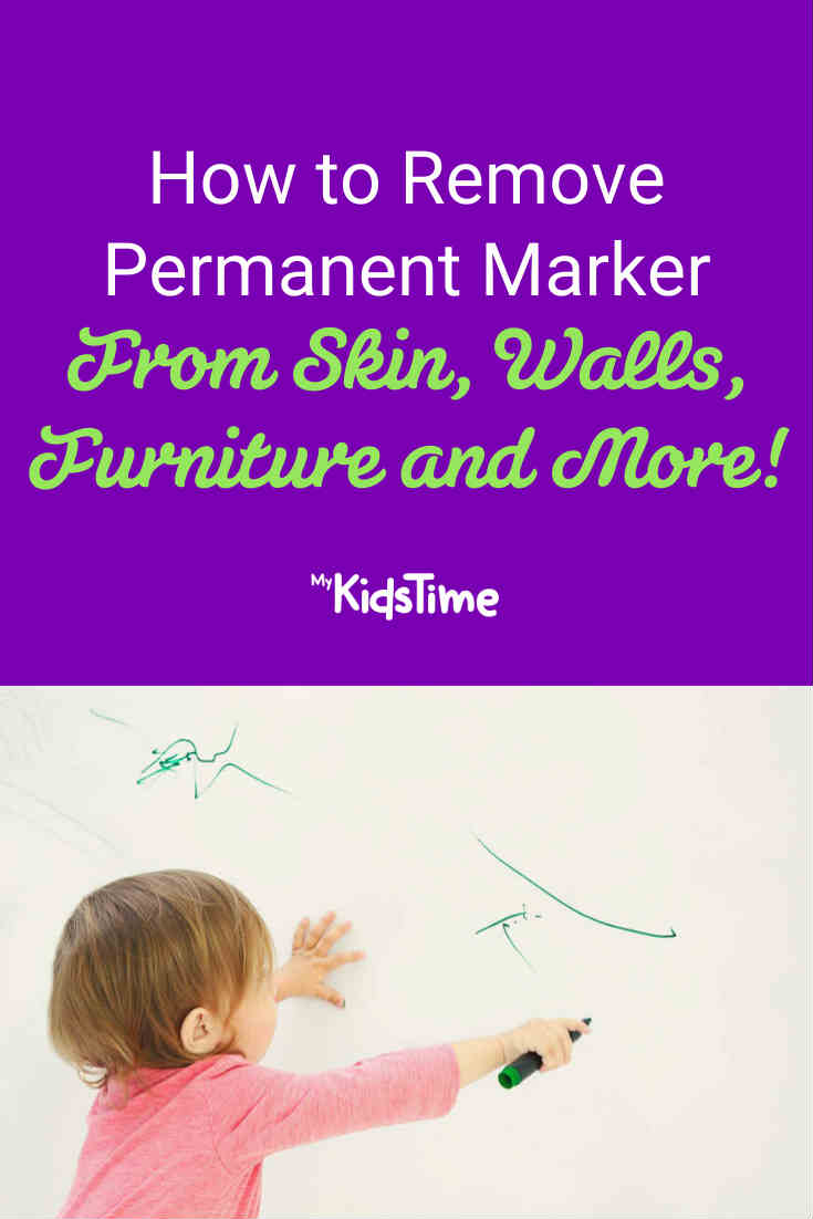 How to Remove Permanent Marker From Skin Furniture Walls and More! - Mykidstime