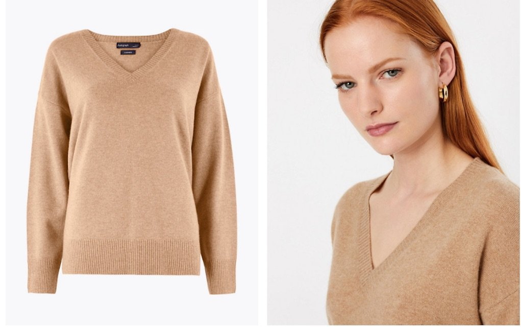 M&S Autogarph collection cashmere jumper best Mother's day gifts